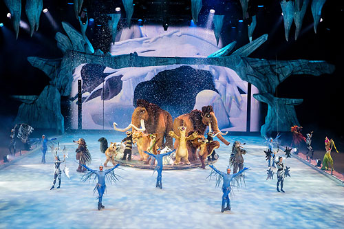 Ice Age Live! © Stage Entertainment / Morris MacMatzen