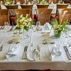 Tischgedeck und richtiges Servieren
