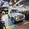 Land Rover Defender am Ende