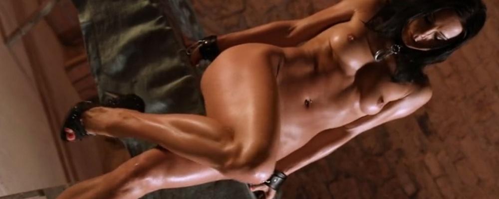 Alex Zothberg nackt vor der Peitsche