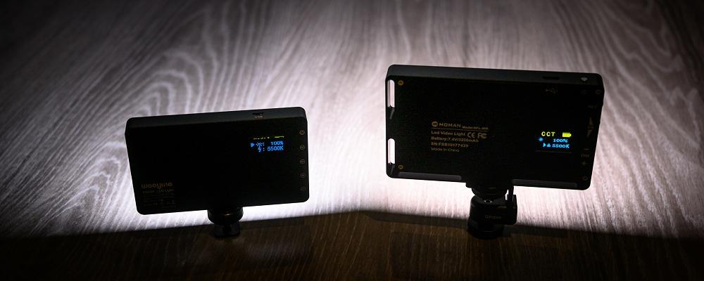 Moman 12W und Weeylite 8W RGB-LED im Test und Vergleich