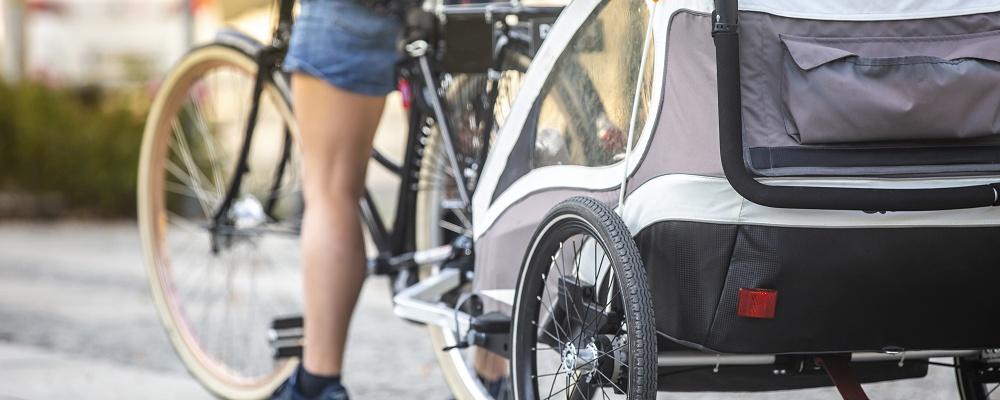 Der perfekte Anhänger für das Fahrrad