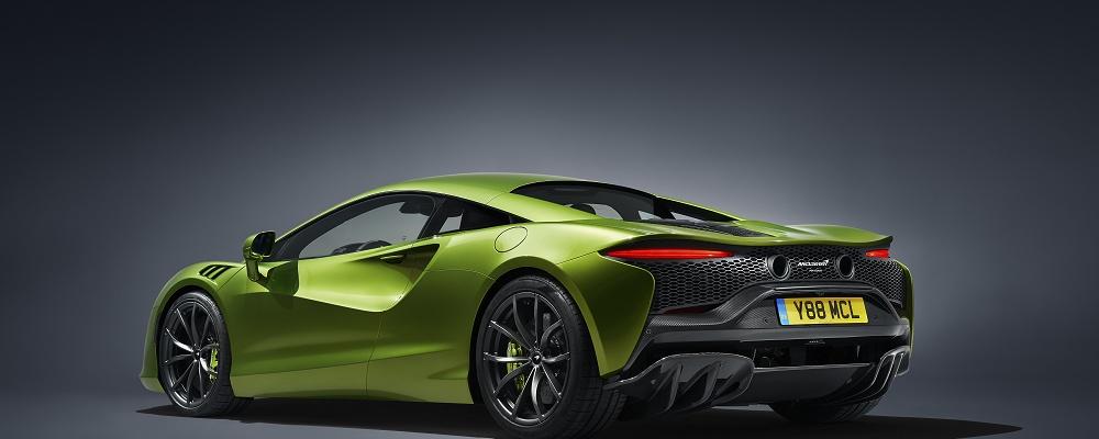 McLaren Artura startet hybrid