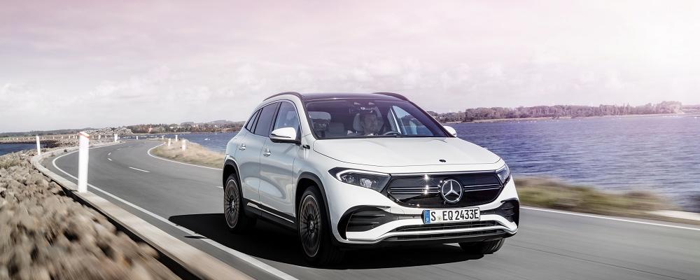 Mercedes EQA bestellbar