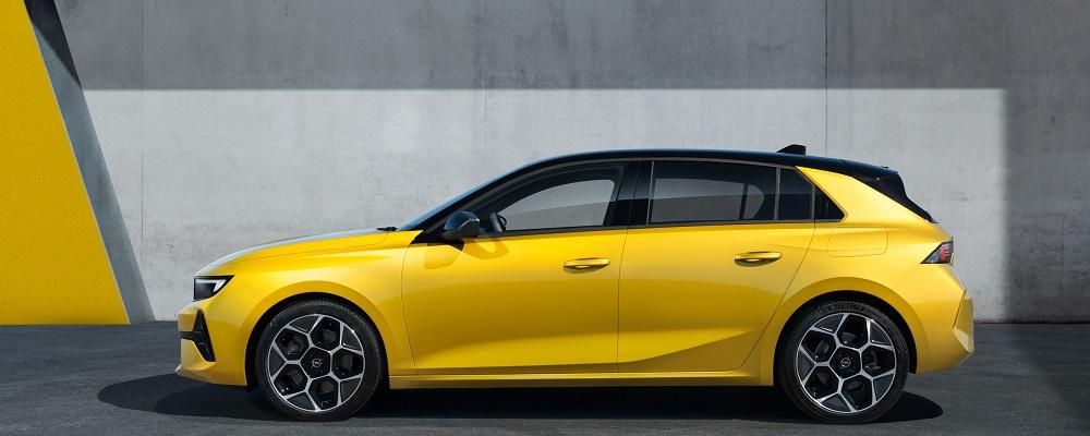 Opel Astra und Grandland 2021 mit Vizor