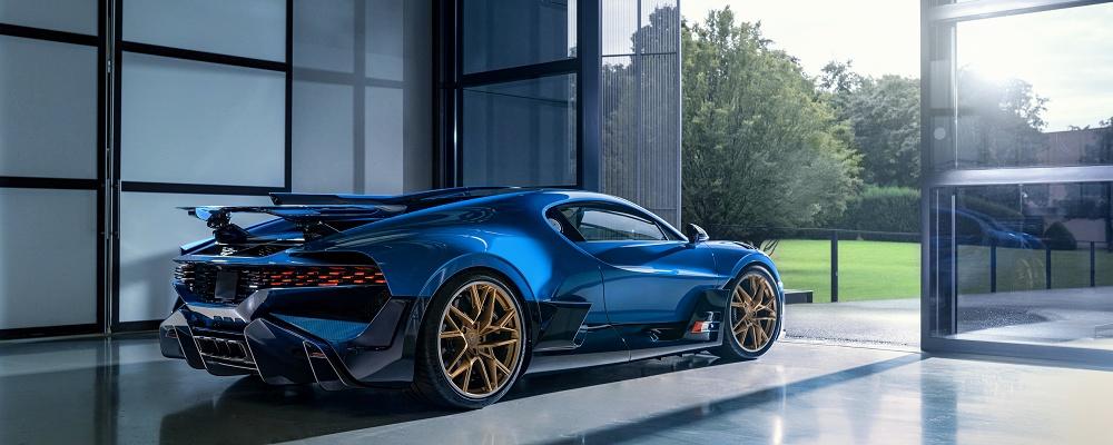 Bugatti Divo 1 verabschiedet sich