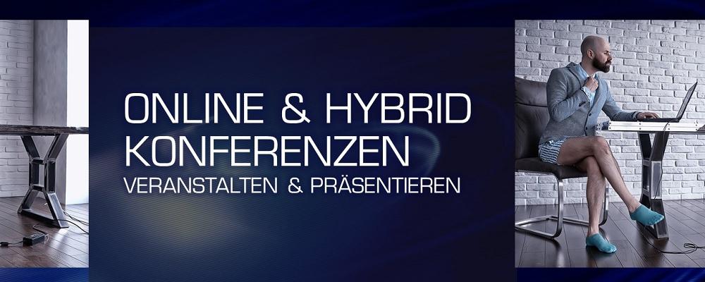 Virtuelle oder hybride Konferenzen erfolgreich veranstalten