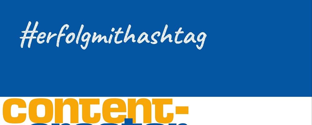 Erfolg mit #hashtags