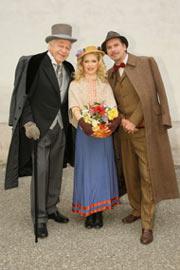 Michael Maertens, Katrin Fuchs, Intendant KS Prof. Harald Serafin