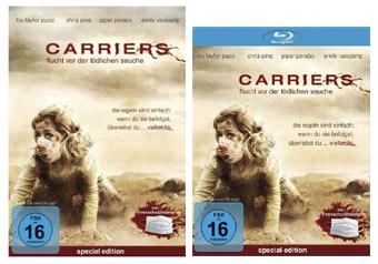 Carriers DVD und Blu-ray