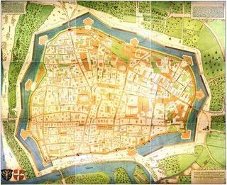 Plan Wiens von Bonifaz Wolmuet (1547) / Copyright MA 8