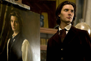 Das vollkommene Bildnis - Dorian Gray (Ben Barnes) und sein Portrait / © Filmladen Filmverleih