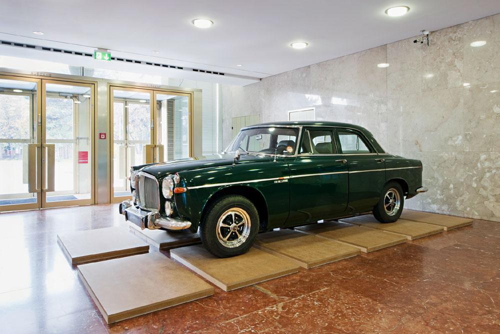 Dienstwagen von Bundeskanzler Bruno Kreisky/Foto: Hertha Hurnaus, © VWien Museum