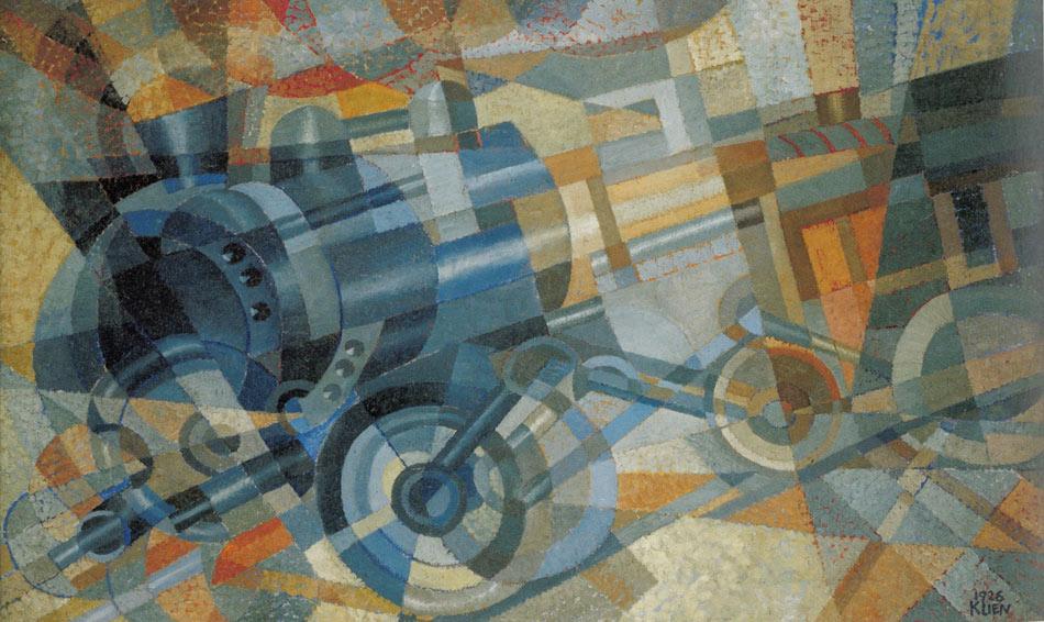 Erika Giovanna Klien - Lokomotive, 1926 / Foto © Sammlung Pabst