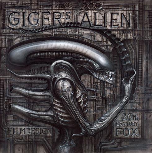 Alienmonster (Gigers Alien), 1979 / © HR Giger, 2011
