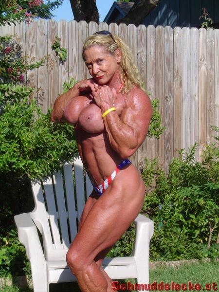Nackt bodybuilderin Weibliche Bodybuilderin