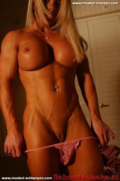 Nackte Muskelfrauen