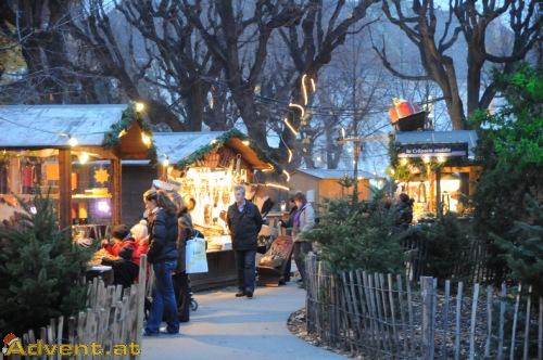 Weihnachtsmarkt Wien Eröffnung.Weihnachtsdorf Altes Akh Wien Advent At